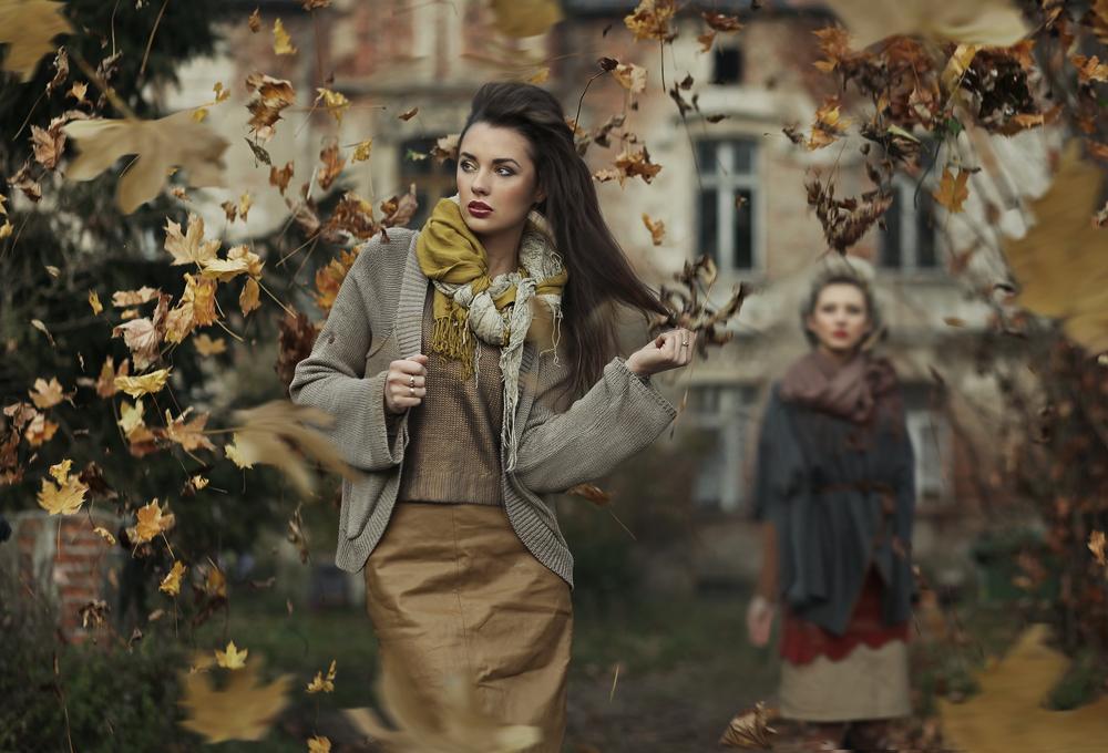 Klänningar för hösten